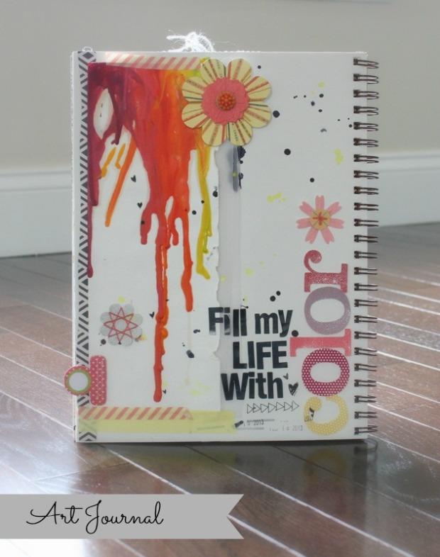 art journal- color