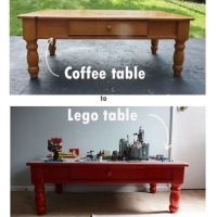 Weekend project- Lego table