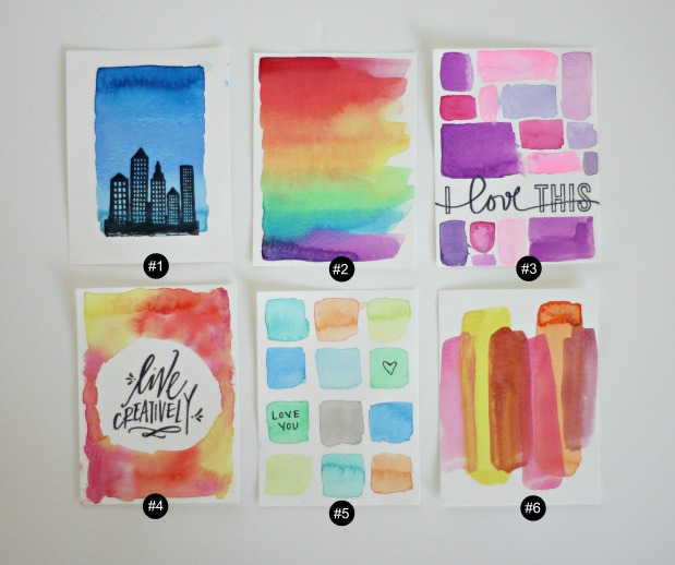 watercolorcards