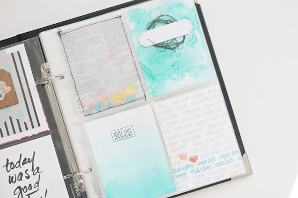 how to make a scrapbook pocket page